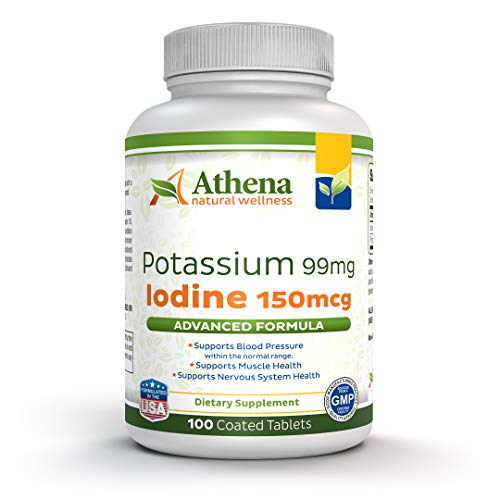 Potassium 99mg with Iodine 150mcg Supplement