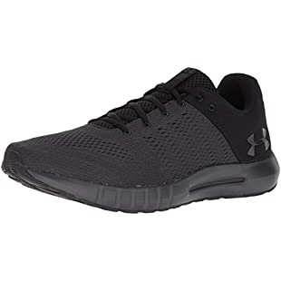 Under Armour Ua Micro G Pursuit, Men's Competition Running Shoes, Black (Anthracite), 10 UK (45 EU):Delocitypvp