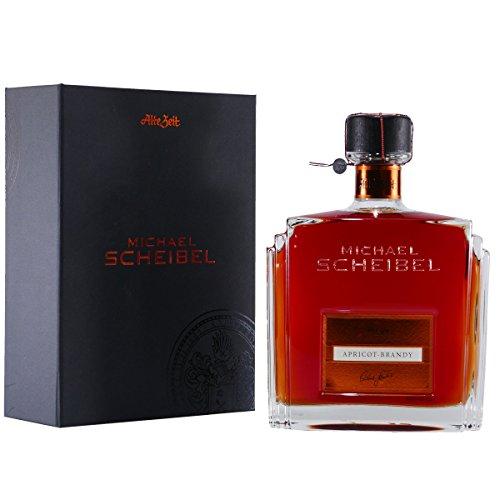 Scheibel ALTE ZEIT Apricot Brandy mit Geschenk-Schatulle