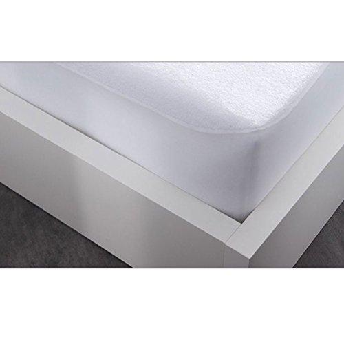 Today Protège Matelas Firm, Polyester Coton, Blanc, 160x200x23 cm