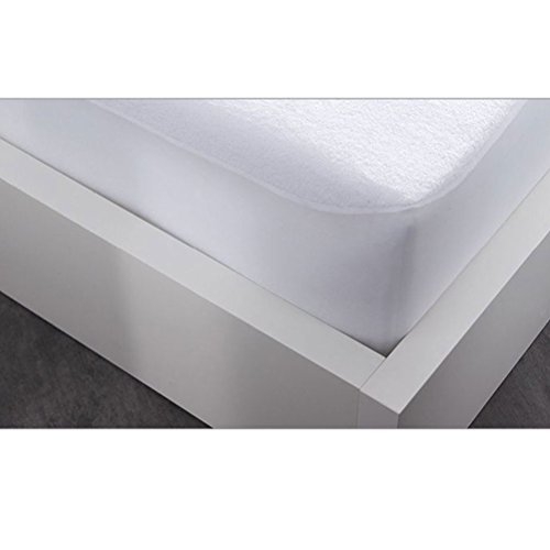 Today Protège Matelas Firm, Polyester Coton, Blanc, 160x200x23 cm