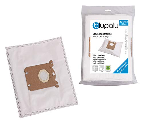 blupalu I Staubsaugerbeutel für Staubsauger AEG Ultraone AUO 8815 1600 Watt 8815 B I 30 Stück I mit Feinstaubfilter | optimierter Adapter - Aufsatz