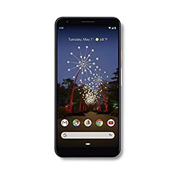 Google - Pixel 3a XL with 64GB Memory Cell Phone  Unlocked  - Clearly White  Renewed