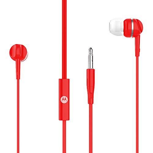 In-Ear-Kopfhörer – Motorola – mit integriertem Mikrofon – Rot