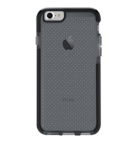 tech21 EVO Check 4.7' Funda Negro, Transparente - Fundas para teléfonos móviles (Funda, Apple, iPhone 7, 11,9 cm (4.7'), Negro, Transparente)
