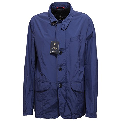 Fay 4158R Giubbotto Uomo Giubbino Blu Trench Jacket Man [XL]