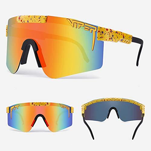 Gafas De Ciclismo Polarizadas Gafas De Sol Deportivas con Montura TR90 Gafas De Bicicleta para Hombres Mujeres Anti-UV400,1