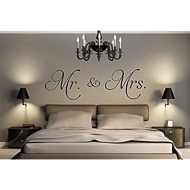Mr. & Mrs. Decal 18 X 60