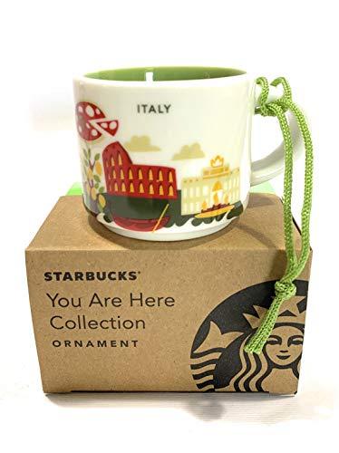 Starbucks Italy 'You Are Here' YAH Espresso-Tasse mit Aufschrift