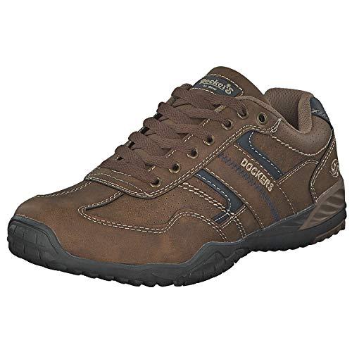 Dockers by Gerli Herren-Schuhe 44BN010-650320 Sneaker, Naturt Xf6ne, 42 EU
