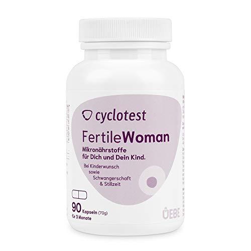 Cyclotest fertile woman - Mikronährstoffe für Frauen