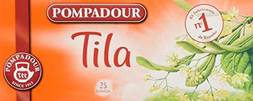 Pompadour Té de Tila, 25 Bolsitas