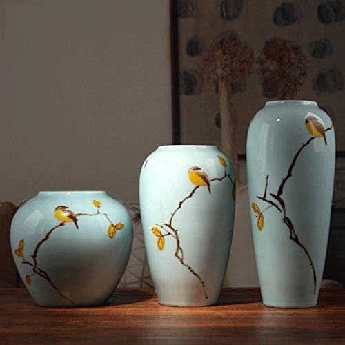 Vase Meters en céramique Décoration Salon Moderne Étagère de télévision Bougies à Sec décorations à la Maison