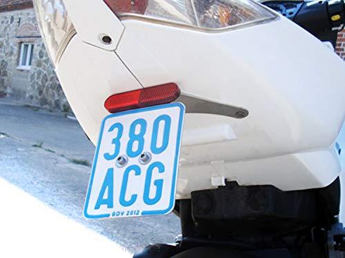 Kennzeichenhalter Mittig Jetforce C-Tech 50ccm Roller