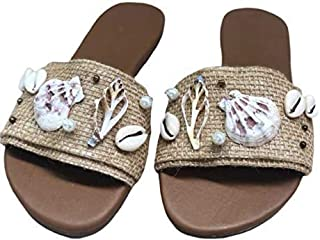 Kiki Boho   Sea Sandals, sandalias artesanales de piel y yute hechas por artesanos mayas talla 5mx- 8us