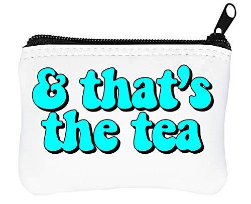 Dat is de thee rits portemonnee munten portemonnee
