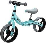 YOLEO Bicicleta sin Pedales, Sillín Regulable 32-41cm, Bicicleta Equilibrio para Niños 2+ Años,...