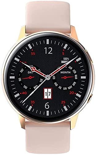 IP68 Smartwatch Impermeable es Adecuado para Android iOS- Teléfonos, S30 Smart Watch Hombres y Mujeres Temperatura Cuerpo Presión Arterial (Color : C)