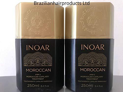 INOAR Brasilianische Keratin Marokkanische Haarglättungsbehandlung