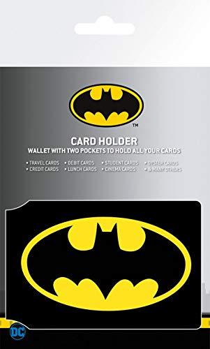 1art1 Batman - Comics Logo Tarjeteros para Tarjetas De Crédito (10 x 7cm)