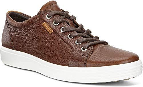 Ecco Herren Soft 7 Men'S Low-Top Sneaker, Braun (1283WHISKY), 46 EU
