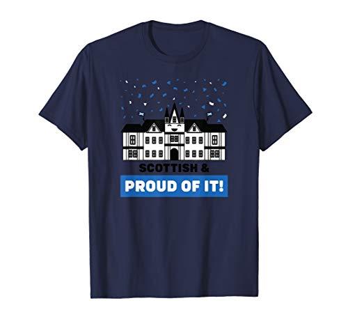 Scottish & Proud of It - Edinburgh Castle Scotland Souvenir T-Shirt