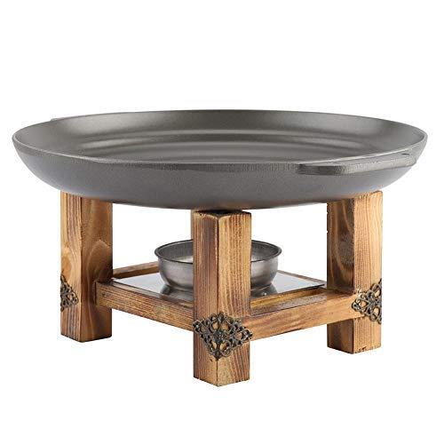 HHTX Placa de Parrilla Antiadherente Pinchos de Barbacoa Plato de frotamiento Utensilios de Cocina Buffet Party Pan