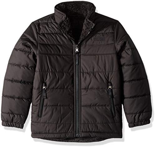 The North Face Boys' Reversible Mount Chimborazo Jacket, TNF Black/TNF Black, M