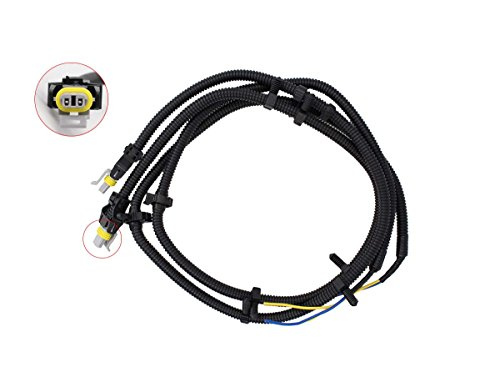 MOTOKU 2 Pcs of ABS Wheel Speed Sensor Wire Harness Pigtail Plug Replacement for Buick Century LaCrosse Regal Rendezvous Cadillac CTS DeVille STS Chevrolet Impala Monte Carlo Uplander