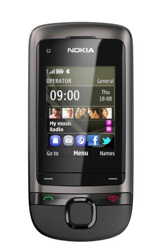 "Nokia C2-05 - Teléfono móvil (5,08 cm (2""), 240 x 320 Pixeles, 0,065000M, 64 MB, 32 GB, 640 x 480 Pixeles) Gris"