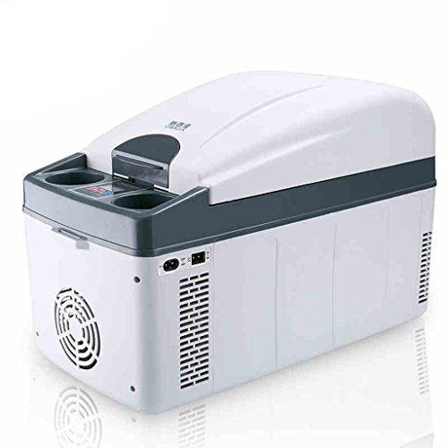 JCOCO Réfrigérateur voiture 20L Car Home À double usage Mini Incubateur froid et chaud Refrigeration Appartement Réfrigérateur Mini réfrigérateur