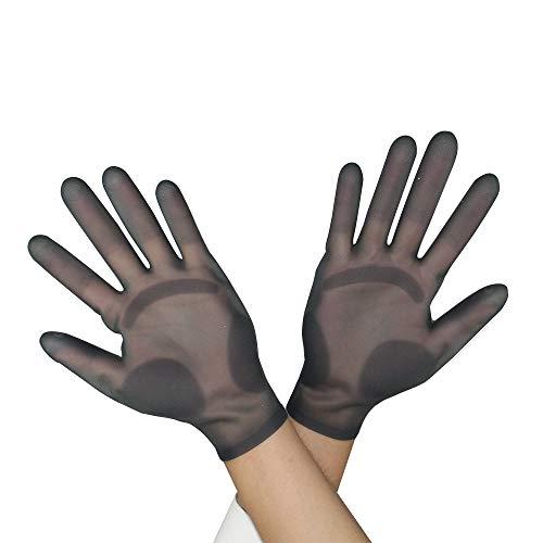 TEEWAL 1 Pair Silicone Gloves, Jewelry Making Gloves, DIY Craft Resin Casting Gloves, Silicone Gloves for Epoxy Resin Casting, Flexible & Soft Gloves for DIY Crafts Tools