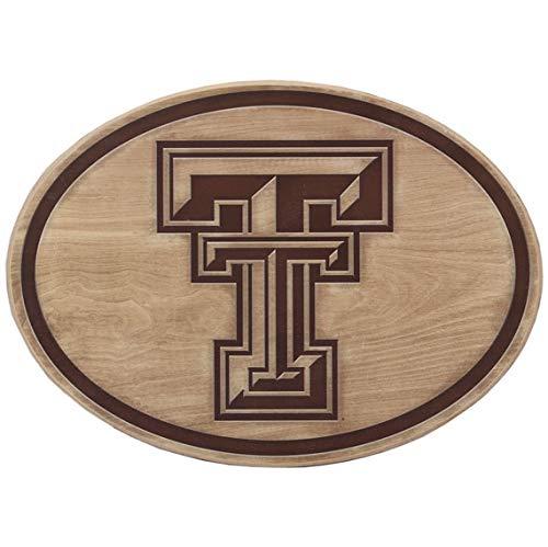 Open Road Brands Texas Tech University Logo Wood Wall Décor