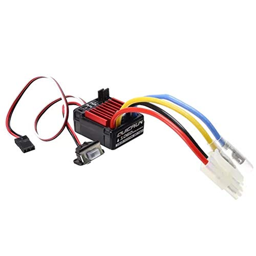 AKDSteel QuicRun 1060 Brushed ESC 60A / 360A 2A / 5V 11.1V RC Autoteil-Spielzeug Geschenk