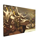 Saneet Game Poster Junkrat Ov.er.watch Canvas Wall Art Decorative Painting Kitchen Painting For House Decoratiion No Frame-12' X 18'Inch