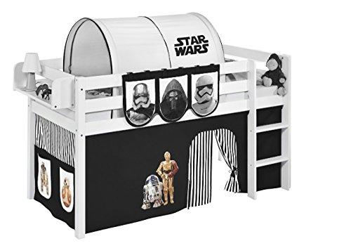 Lilokids Vorhang Star Wars Schwarz - für Hochbett, Spielbett und Etagenbett