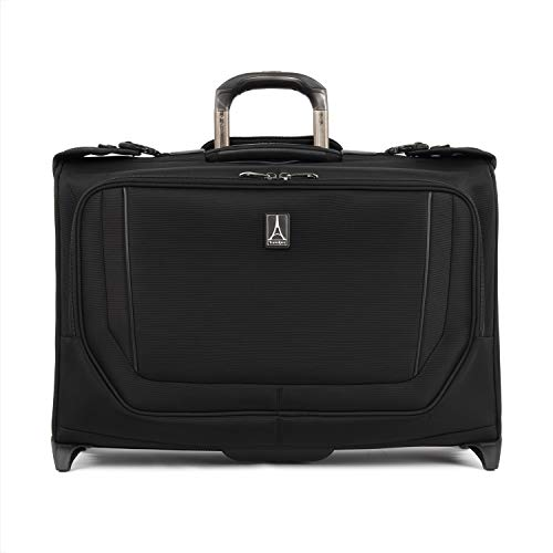 Travelpro Crew Versapack - Carry-on Rolling Garment Bag, Jet Black, One Size