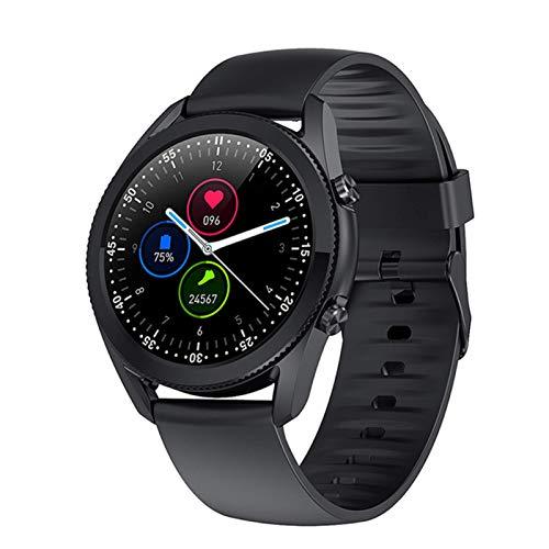 YDK Smart Watch G33 Pulsera De Hombres De Negocios Bluetooth Call IP67 Monitor De Ritmo Cardíaco Deportes Fitness Tracker Smartwatch Ladies Pulsera,E