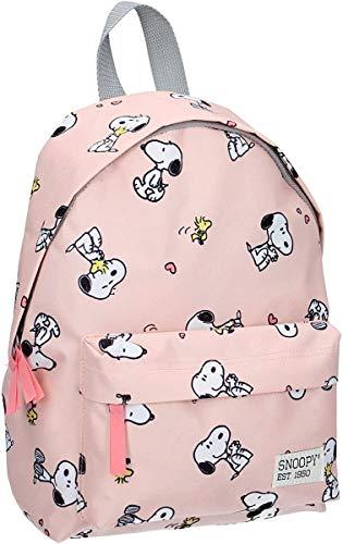 Peanuts Snoopy Kinderrucksack - Snoopy und Woodstock - Rosa