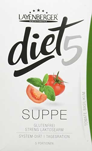 Layenberger diet5 Suppe Tomate-Basilikum, 5 Stück