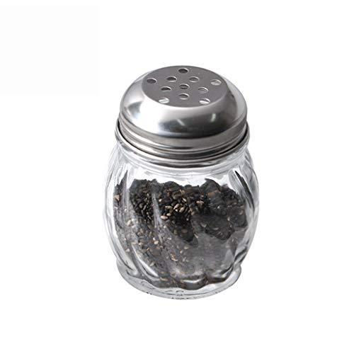 Flessenvulpen van glas zonder piombo voor grote calculieën, afmetingen afdekking van roestvrij staal, grootte van de container
