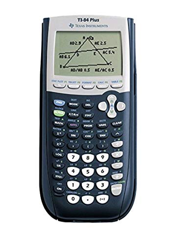 6COU – TI-84Plus Programmable Graphing Calculator, 10-Digit...