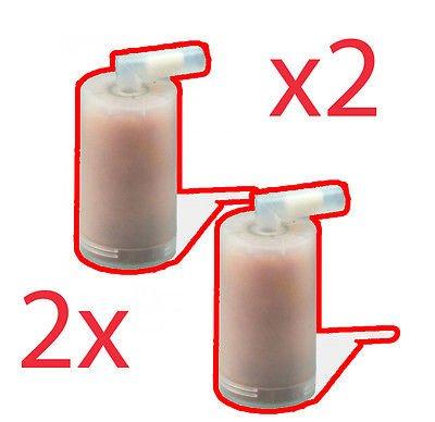 Ariete 2x Filter Kartusche für Bügeleisen Stiromatic Plus Eco Power 6422