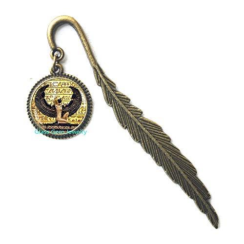 Marcador egipcio, joyería de Egipto antiguo, marcapáginas
