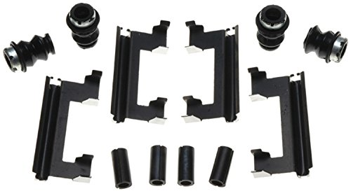ACDelco 18K990X Professional Front Disc Brake Caliper Hardware Kit with Clips, Seals, and Bushings