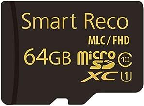スマートレコ(SmartReco) 純正 microSDカード 64GB(WHSR-510専用)