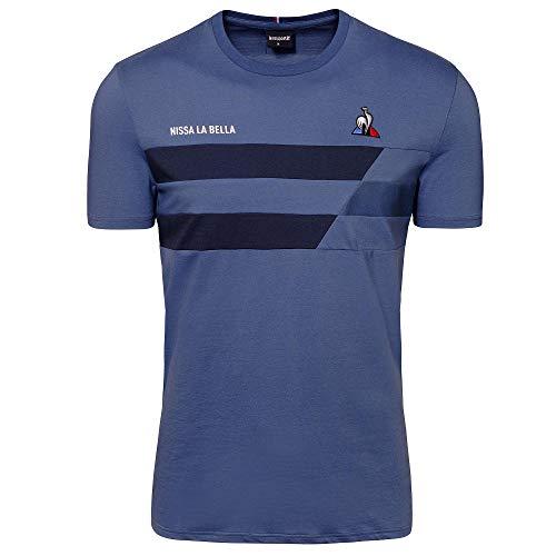 Le Coq Sportif TDF 2020 Fanwear tee SS N°2 M Camiseta de Manga Corta, Hombre, True Navy, S
