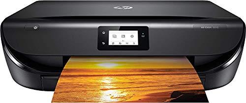 HP Envy 5010, Stampante Multifunzione a Getto di Inchiostro, Stampa, Scannerizza, Fotocopia, Wi-Fi Direct, 2 Mesi di Servizio Instant Ink Inclusi, Nero