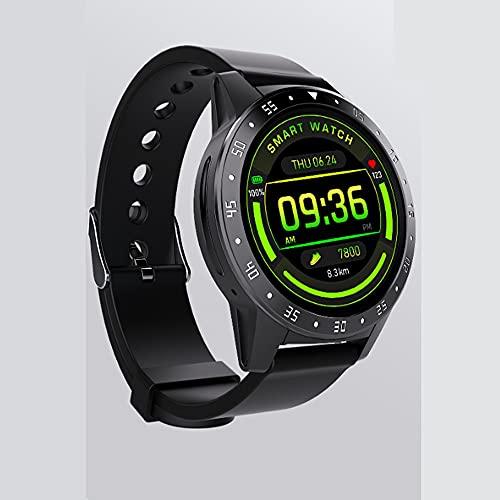 Pomety Pulsera Deportiva Inteligente Impermeable, Ritmo cardíaco, presión Arterial, monitoreo de Salud, recordatorio Inteligente, Reloj Inteligente Bluetooth Multifuncional (Color : M5S)