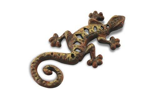 Signes Grimalt - Figura decorativa de lagarto, hierro, 16 cm, 58326SG